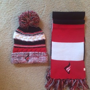 Knit Cap-and-Scarf Bundle