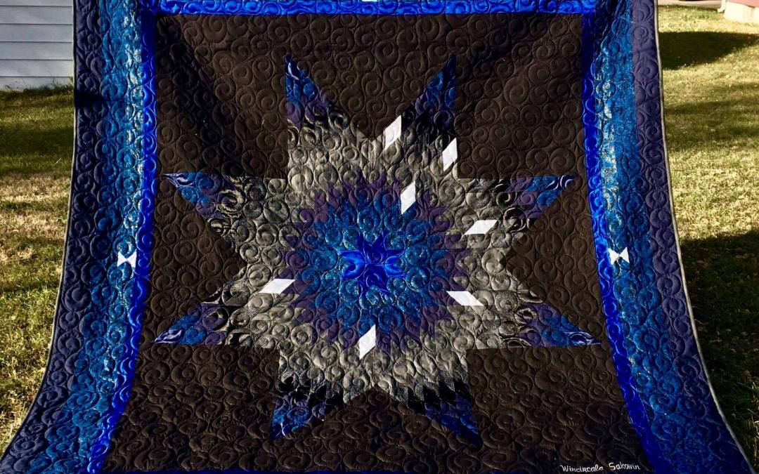 Enter to Win a Handmade Lakota Star Quilt, and Support our Toy Drive!