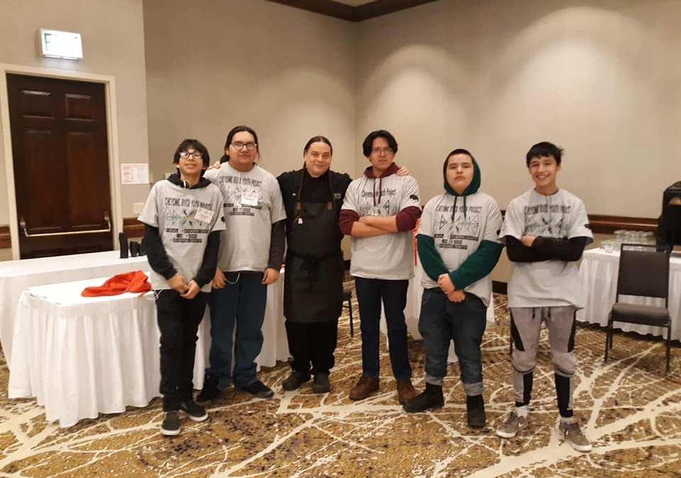 Indigenous Cooking Interns Shine at Lakota Food Summit This Month
