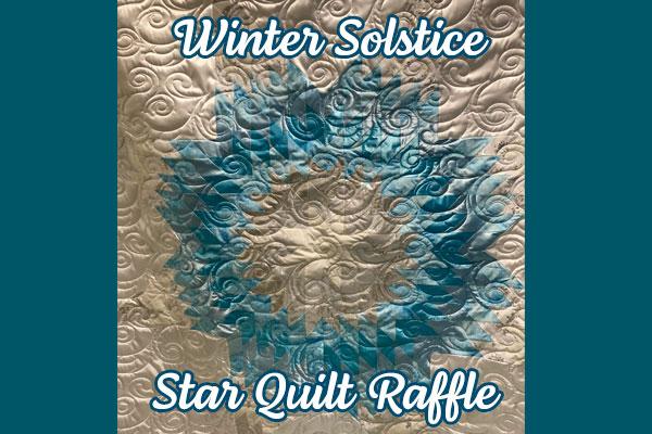 "CRYP Kicks Off Annual Star Quilt Raffle Featuring ""Winter Solstice"" by Lakota Artist Bonnie LeBeaux"