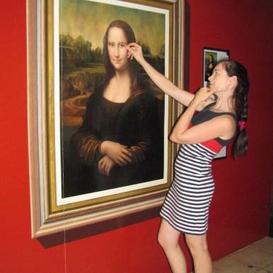 3D галерея Art in paradise Pattaya мона лиза