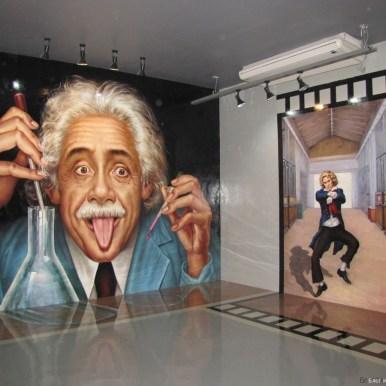 3D галерея Art in paradise Pattaya эйнштейн