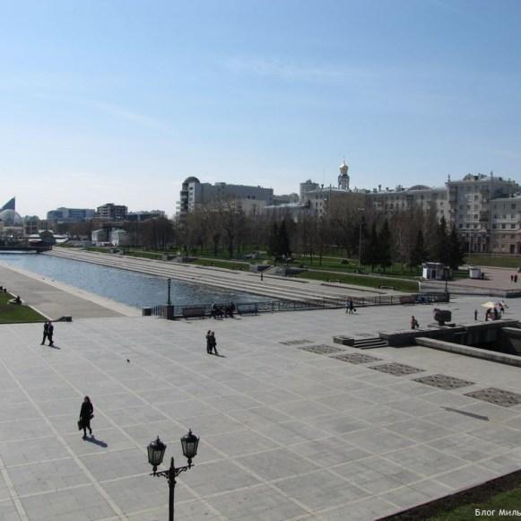исторический сквер екатеринбург центр екатеринбурга фото