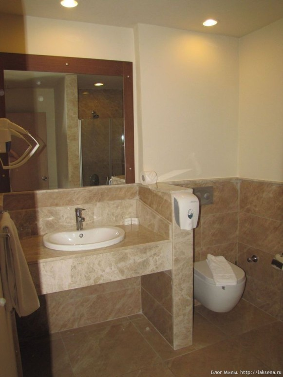 Grand Yazici Mares 5* санузел туалет раковина