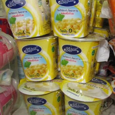 йогурт с соевыми бобами десерты тайской кухни
