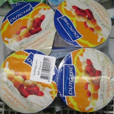тайский йогурт с тайской фасолью десерты тайской кухни