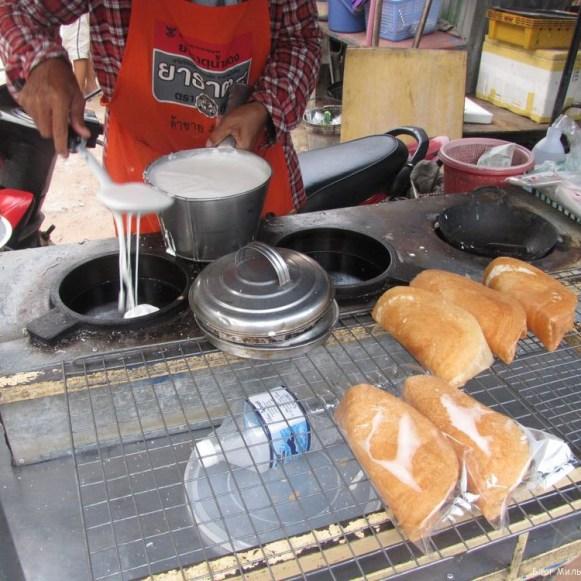 khanom tang taek тайские десерты