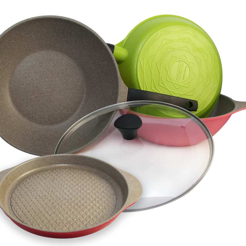 CHEFRIA Vivid Frying Pan 5 IN 1 SET