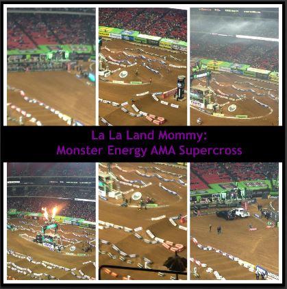 La La Land Mommy: Monster Energy AMA Supercross
