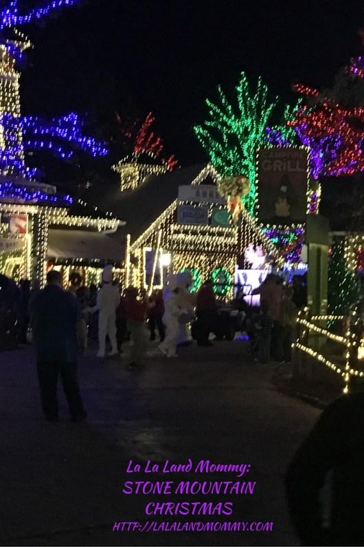 La La Land Mommy: Stone Mountain Christmas