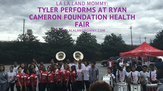 Tyler's Performance At The Ryan Cameron Foundation Health Fair