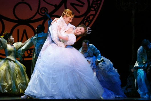 Paige Faure & Andy Jones in the National Tour of Rodgers + Hammerstein's Cinderella. Photo © Carol Rosegg.