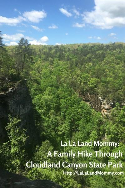 La La Land Mommy: A Family Hike Through Cloudland Canyon State Park