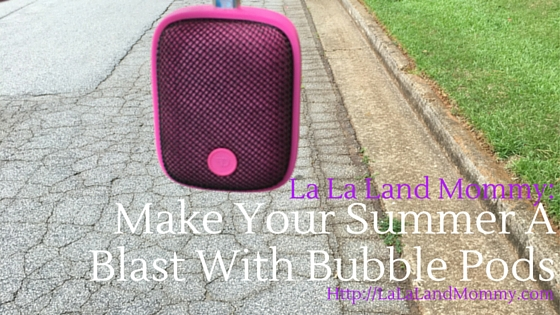 Make Your Summer A Blast With Bubble Pods Speaker