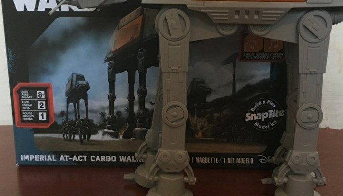 Star Wars Imperial AT-AC Cargo Walker Model Review