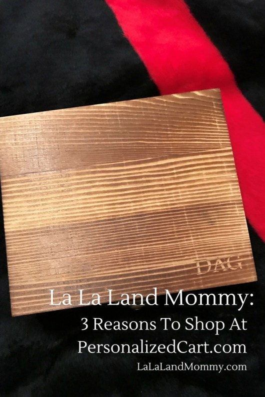 La La Land Mommy: 3 Reasons To Shop At PersonalizedCart.com