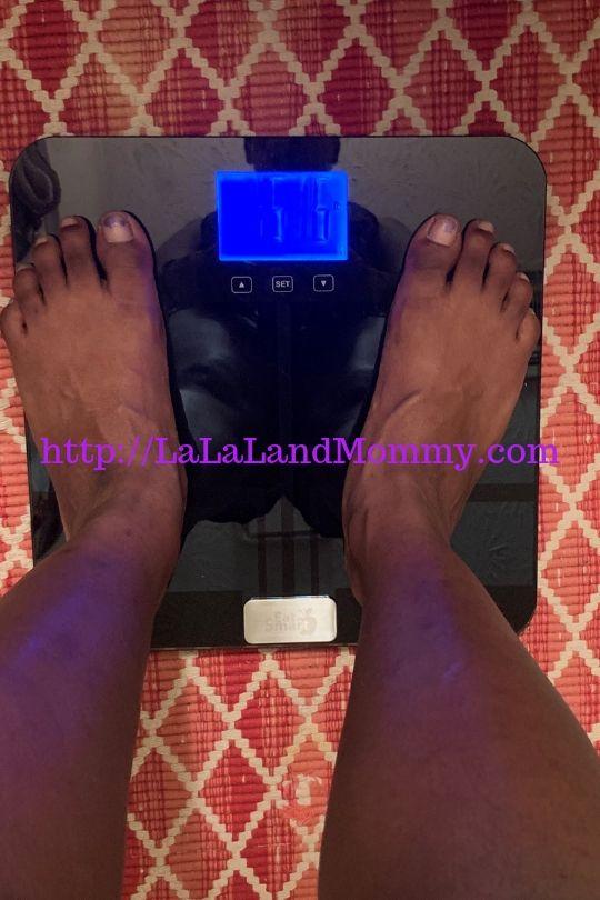 La La Land Mommy: Eatsmart Bluetooth Scale Review