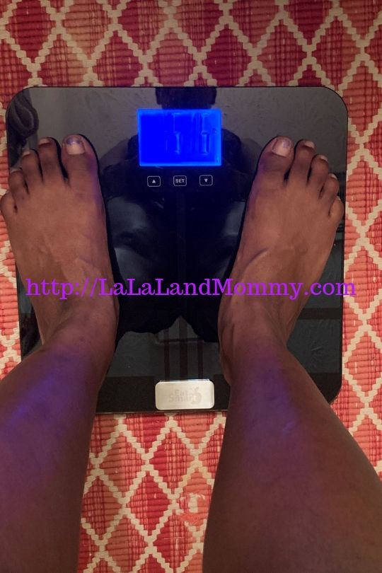 La La Land Mommy: Eatsmart Bluetooth Scale Review