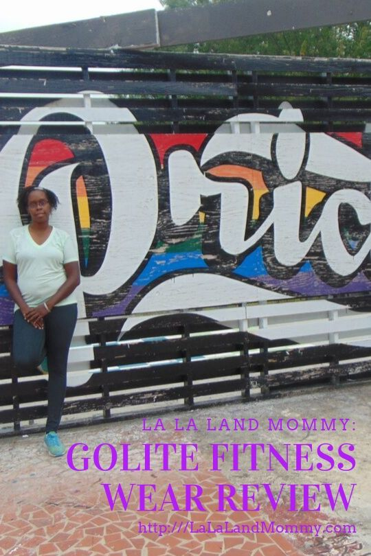 La La Land Mommy: Golite Fitness Wear Review