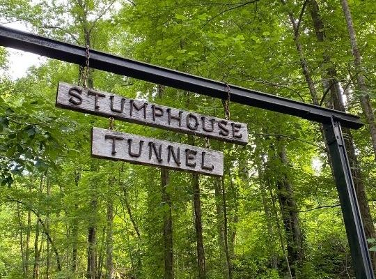 A Trip to Stumphouse Tunnel And Issaqueena Falls