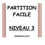 Partition piano facile niveau 3 petit papa noël