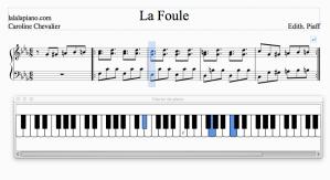 La Foule de Piaf au Piano : une partition «participative»