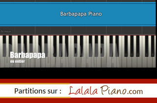partition de piano et synthesia