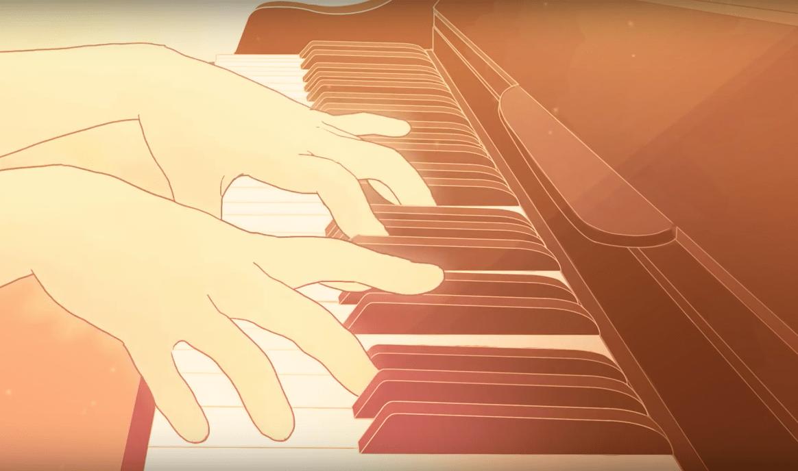 Si t'étais là de Louane : la Partition de Piano Solo