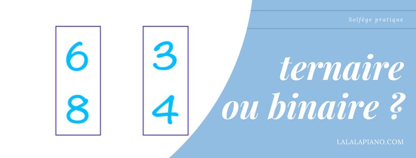 Rythme Binaire ou Ternaire ? 4 Étapes simples pour le savoir