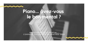 Je stagne au piano, que dois-je faire pour m'améliorer ?