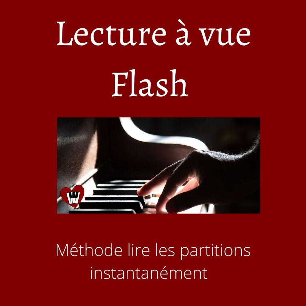 lecture à vue flash méthode lire les partitions instantanément