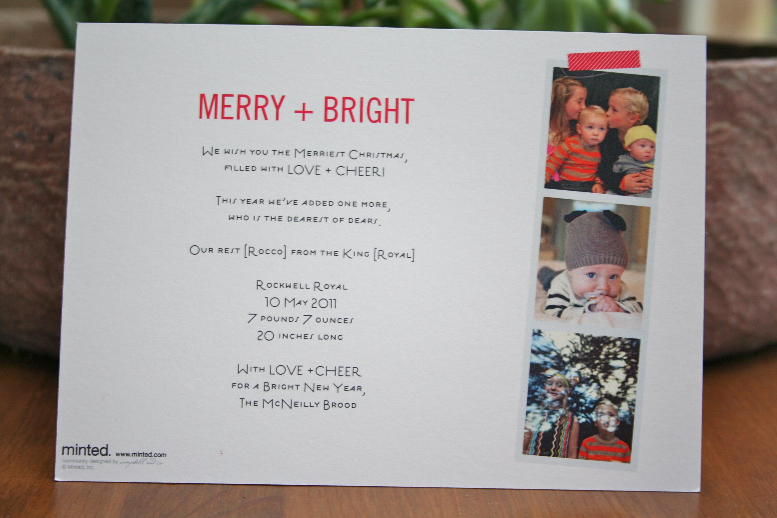 merry christmas! - la la Lovely