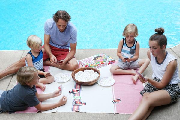 Family Game Night | La La Lovely Blog #BeMoreHere