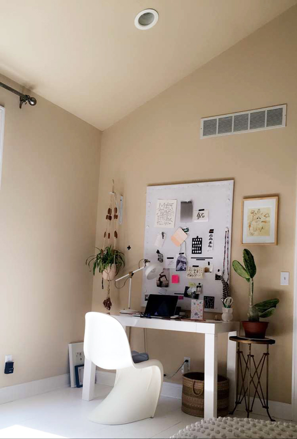 La La Lovely Office Before