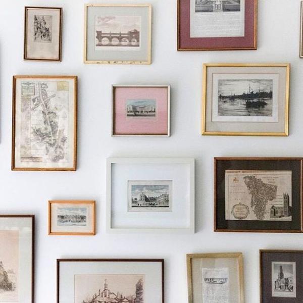 gallery wall love #lalaloving