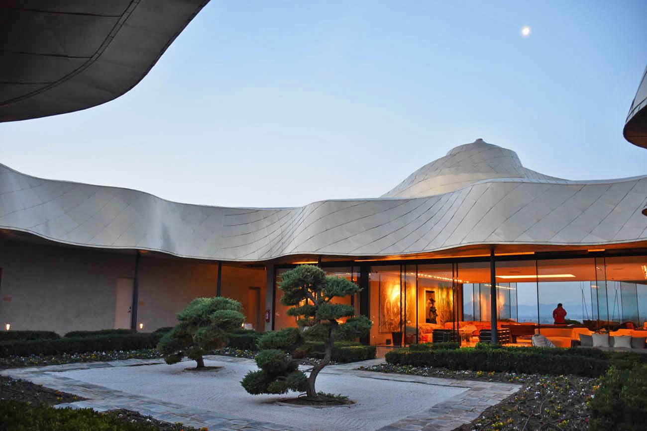 Vina VIK - hotel de luxo em vinícola futurista perto de Santiago, Chile