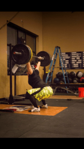 Overhead Squat PR, but need to REFINE that midline stability and posture!
