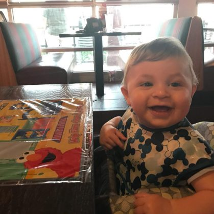 Making eating out at a restaurant with a toddler easier
