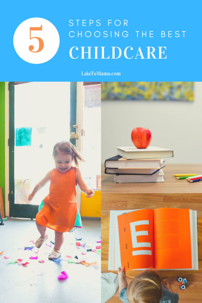 Choosing childcare