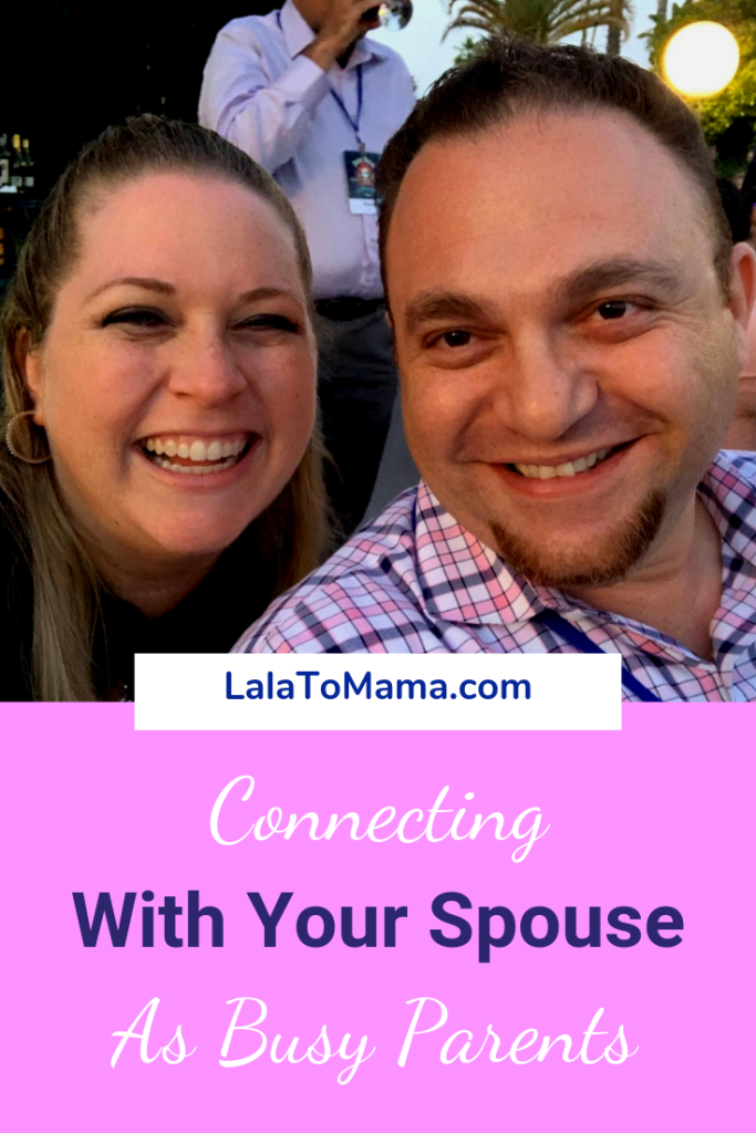 Connecting with your spouse