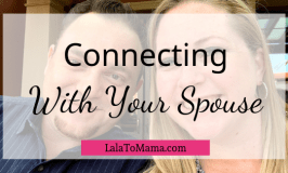 Connecting with spouse