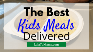Kids Meals Delivered