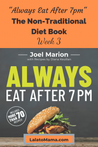 non-traditional diet books