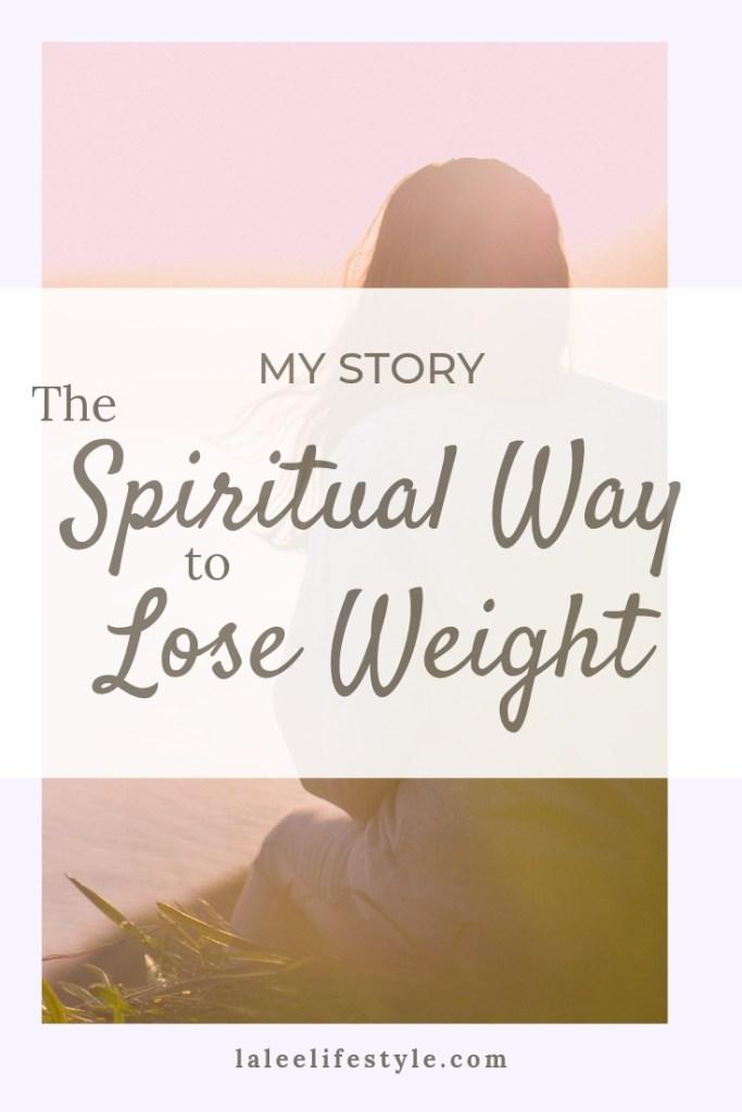 the spiritual way to lose weight