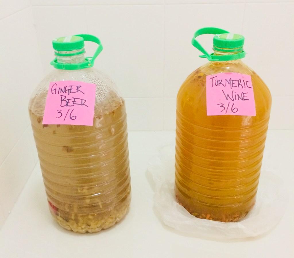 home brew ginger beer