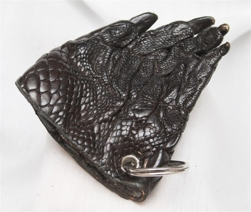 Crocodile Foot Keyring