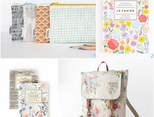 Fournitures scolaires Etsy