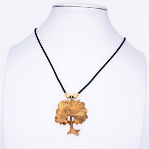 Collier Arbre de Provence – Buis – Mixte
