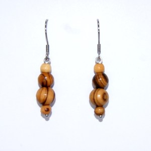 Boucles d'Oreilles Olivier simple