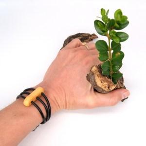 Bracelet Buis 3 cordons Cuir – Mixte